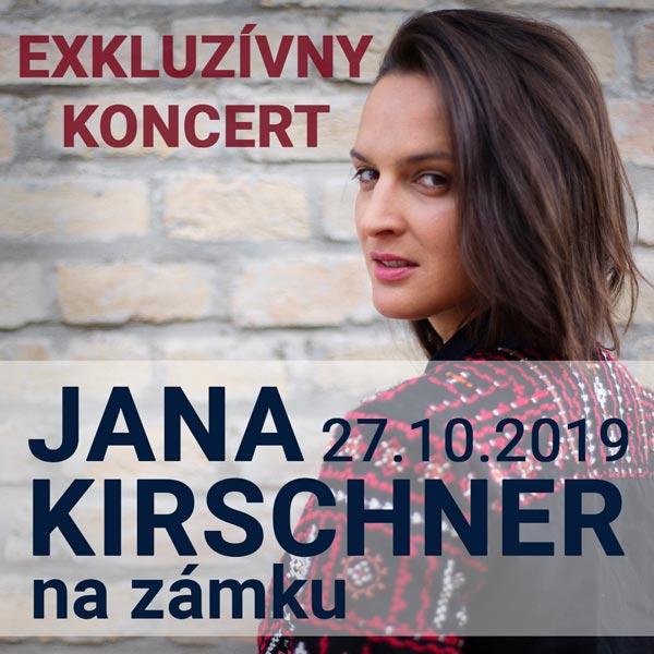 Jana Kirschner na zámku