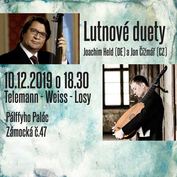Lutnové duety - Telemann - Weiss - Losy