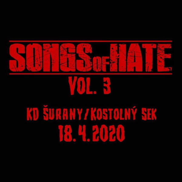 SONGS OF HATE vol. 3