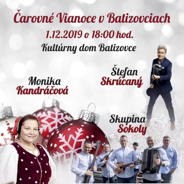 Čarovné Vianoce v Batizovciach - Sokoly