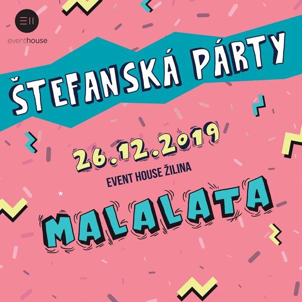 Štefanská párty Event House Žilina