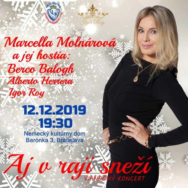 Vianočný koncert - Marcella Molnárová