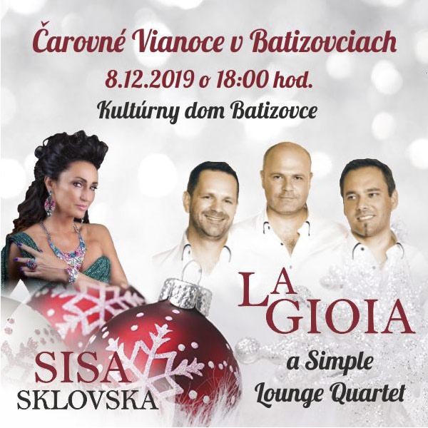 Čarovné Vianoce v Batizovciach - La Gioia