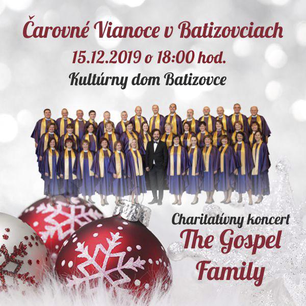 Čarovné Vianoce v Batizovciach - The Gospel Family