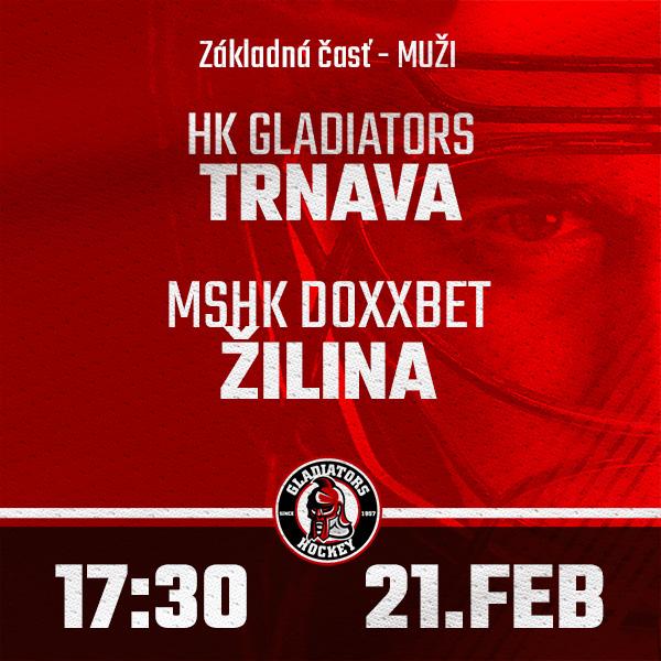 HK GLADIATORS Trnava - MsHK Žilina (1.HL)
