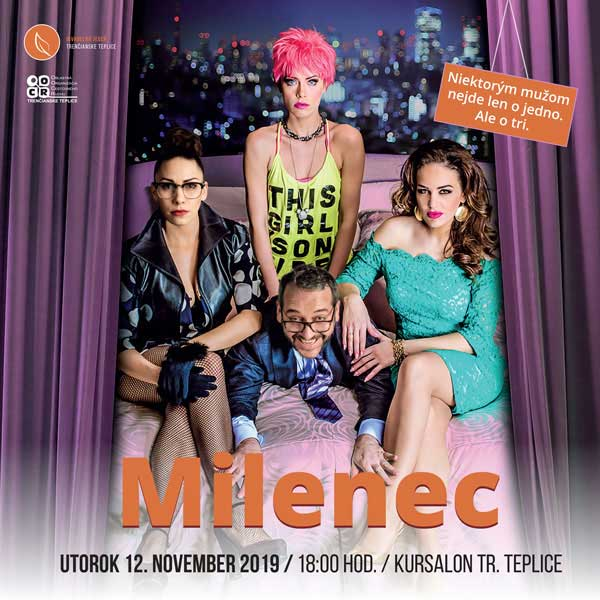 Divadelná komédia Milenec v Kursalone