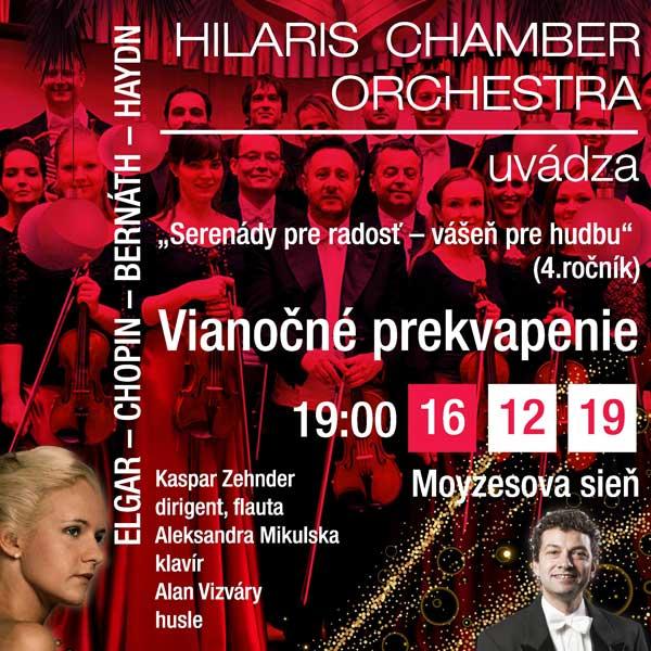 Vianočné prekvapenie - Hilaris chamber orchestra