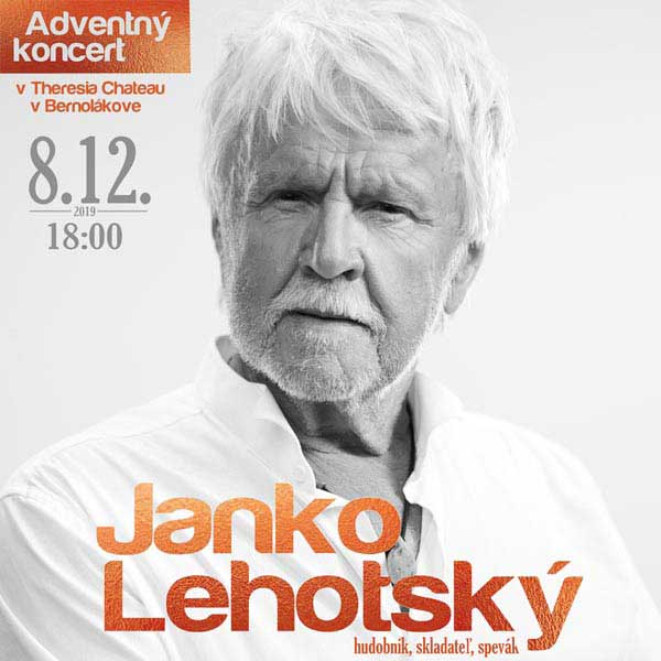 Adventný koncert Janko Lehotský