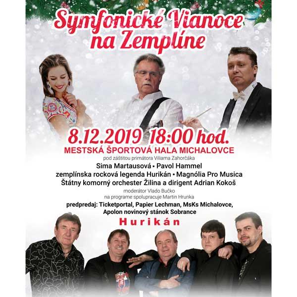 Symfonické Vianoce na Zemplíne