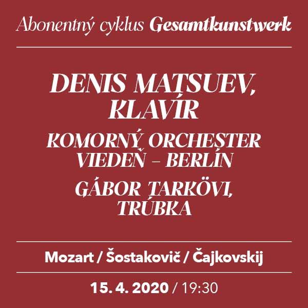 DENIS MATSUEV – Mozart/Šostakovič/Čajkovskij