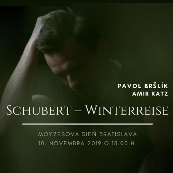 Pavol Bršlík koncert - Franz Schubert Winterreise
