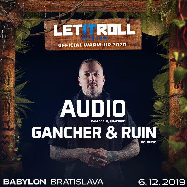 Bassizm w./ AUDIO + Gancher & Ruin / LiR warm up