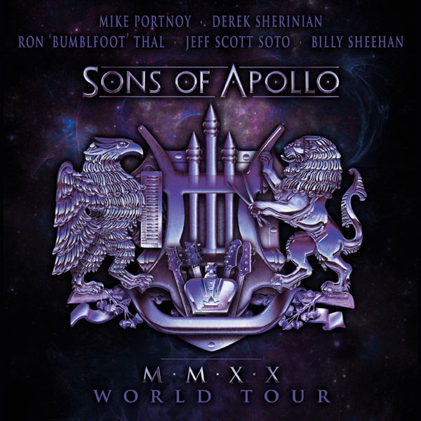 "SONS OF APOLLO  (USA) - ""MMXX World Tour """
