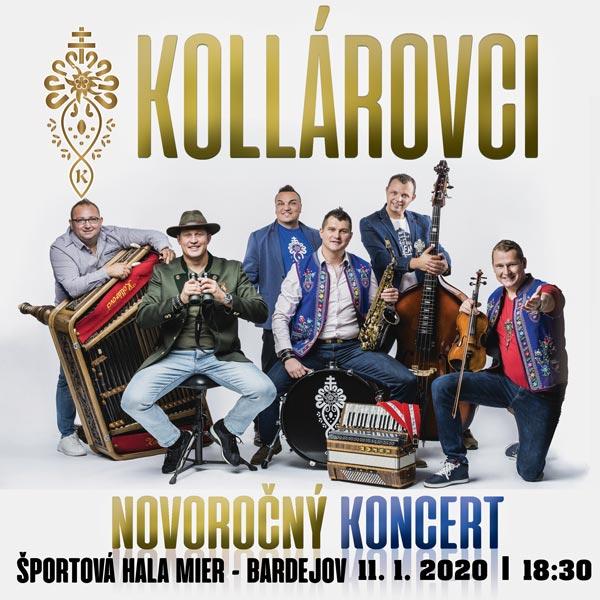 Novoročný koncert Kollárovci
