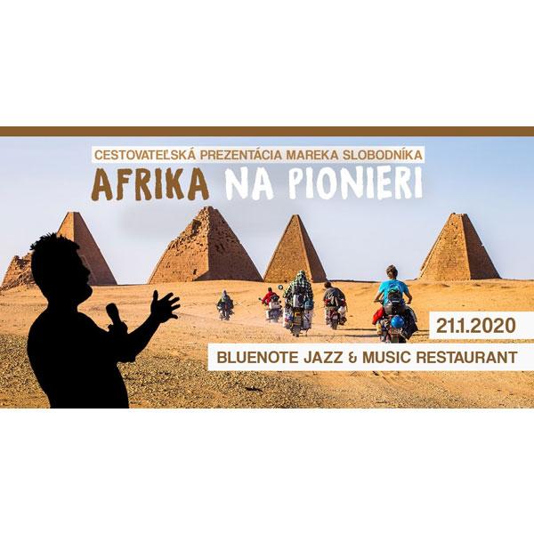 Marek Slobodník – Afrika na pionieri