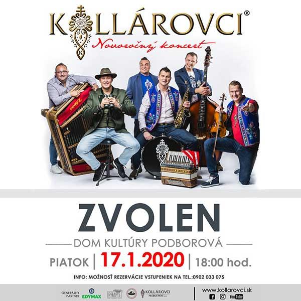 Novoročný koncert skupiny Kollárovci