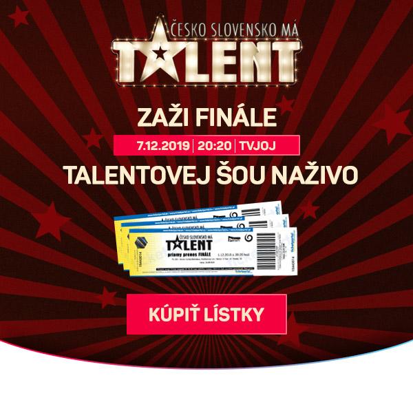 ČESKO SLOVENSKO MÁ TALENT 2019 FINÁLE