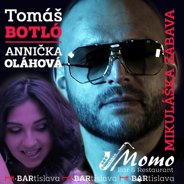 Tomáš Botló a Anička Oláhová v Momo Bare