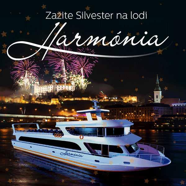 Zažite Silvester na lodi Harmónia