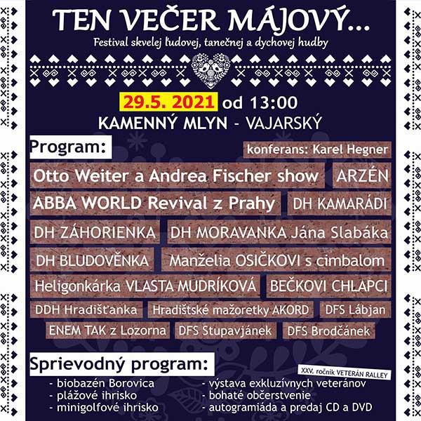 Ten večer májový - medzinárodný hudobný festival