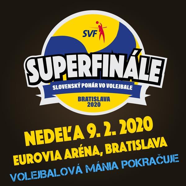 Slovenský pohár vo volejbale - Superfinále 19/20