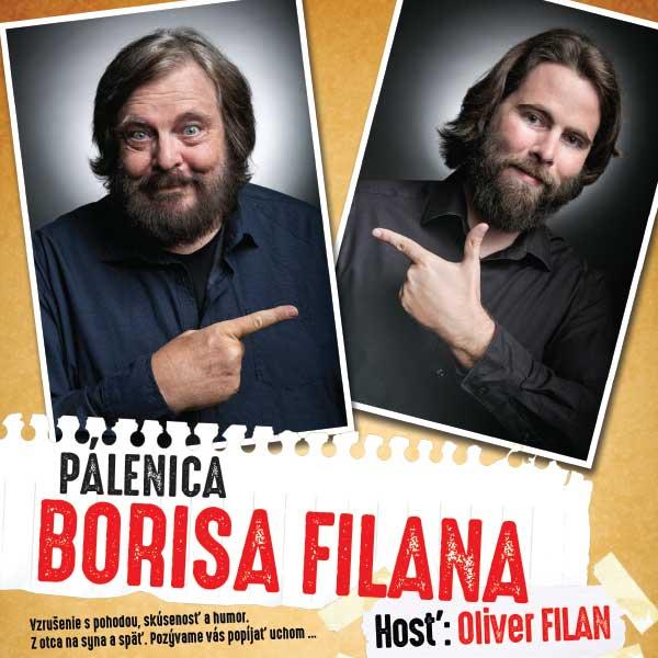 Pálenica Borisa Filana live  hosť: Oliver Filan