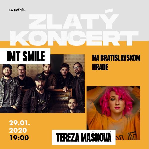 ZLATÝ KONCERT 2020 / IMT Smile a Tereza Mašková /