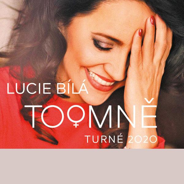 LUCIE BÍLÁ - TO O MNĚ tour 2020