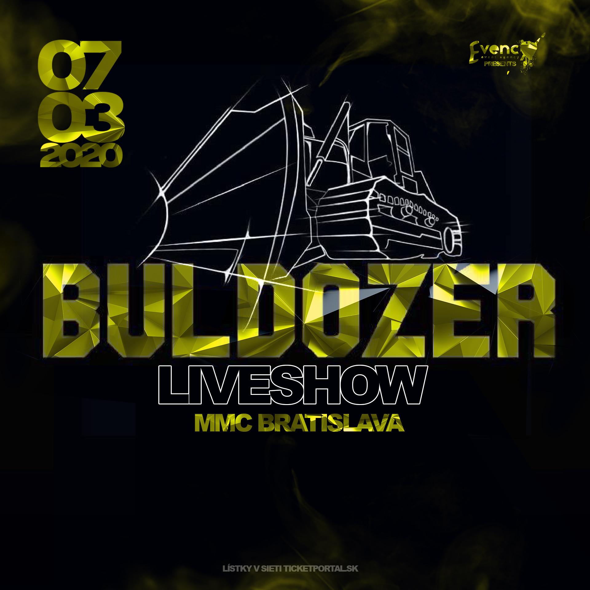 SEPAR BULDOZER SHOW v Bratislave