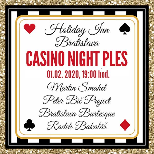 Casino night ples