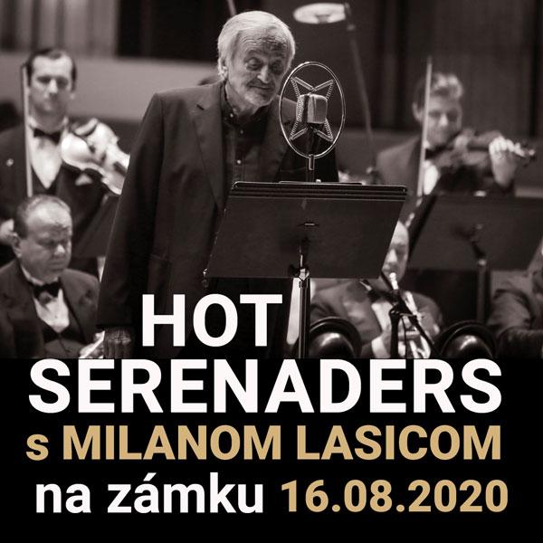 HOT SERENADERS s Milanom LASICOM na zámku
