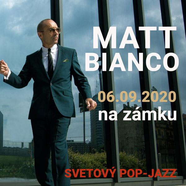 MATT BIANCO na zámku / SVETOVÝ POP-JAZZ UK