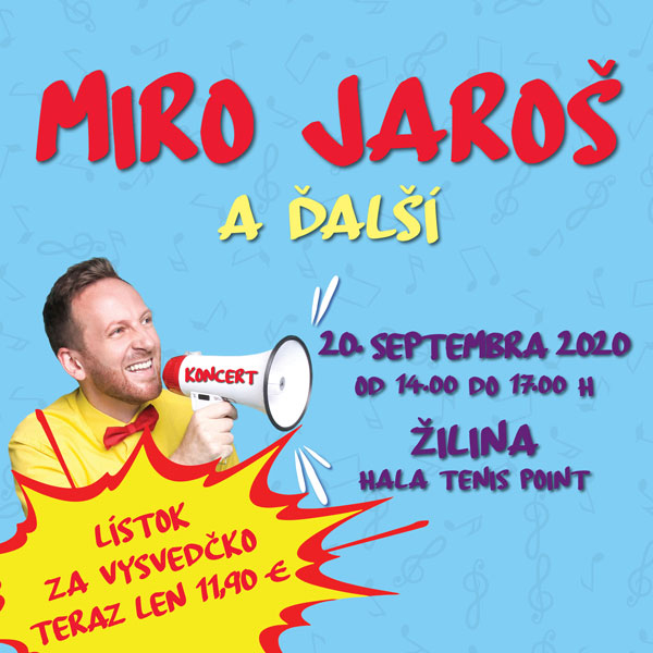 Miro Jaroš a hostia – PARTy SHOW