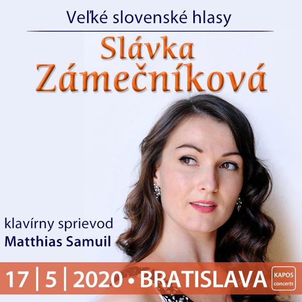 Veľké slovenské hlasy SLÁVKA ZÁMEČNÍKOVÁ