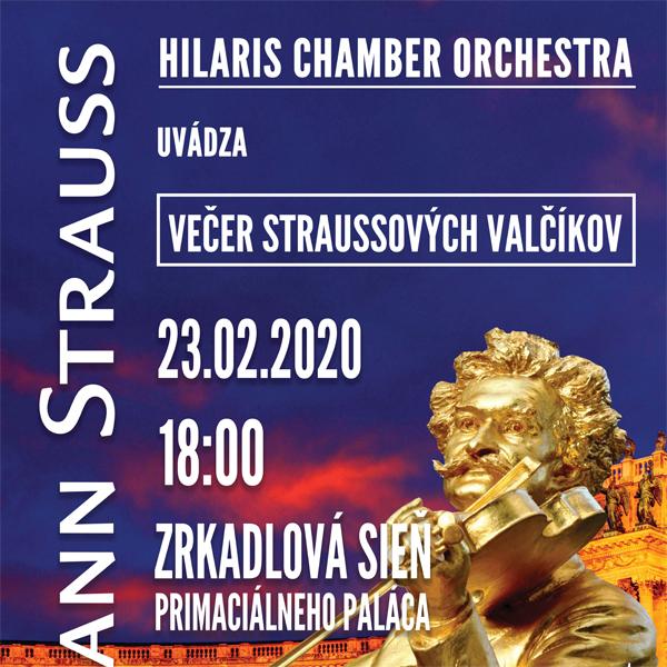 Večer Straussových valčíkov - Hilaris Orchestra