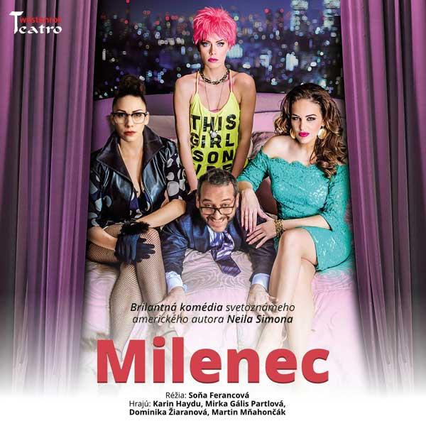 Divadelná komédia MILENEC