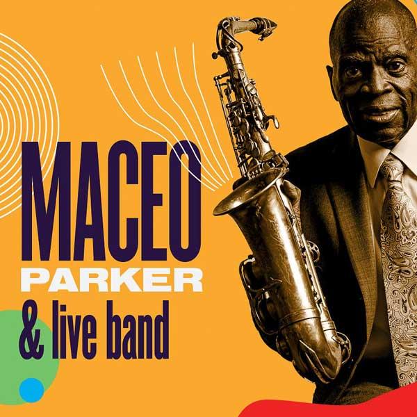 Maceo Parker & live band Bratislava