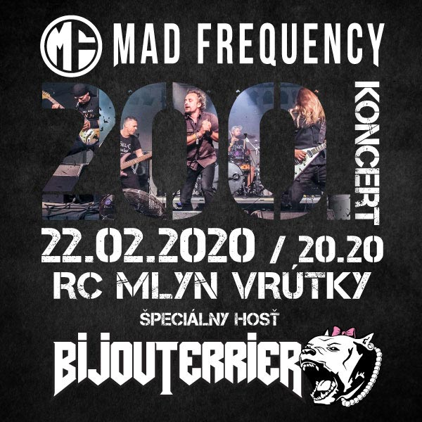 BIJOUTERRIER + MAD FREQUENCY