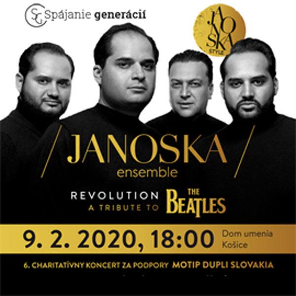 JANOSKA ensemble - charitatívny koncert