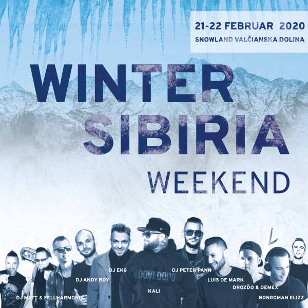 WINTER SIBIRIA WEEKEND
