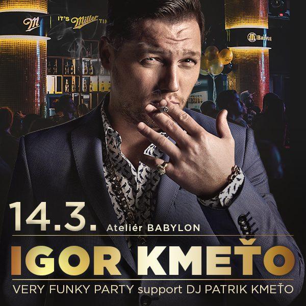 IGOR KMEŤO - funky party