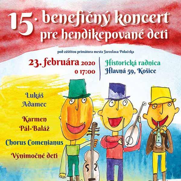 15. benefičný koncert Usmej sa na mňa