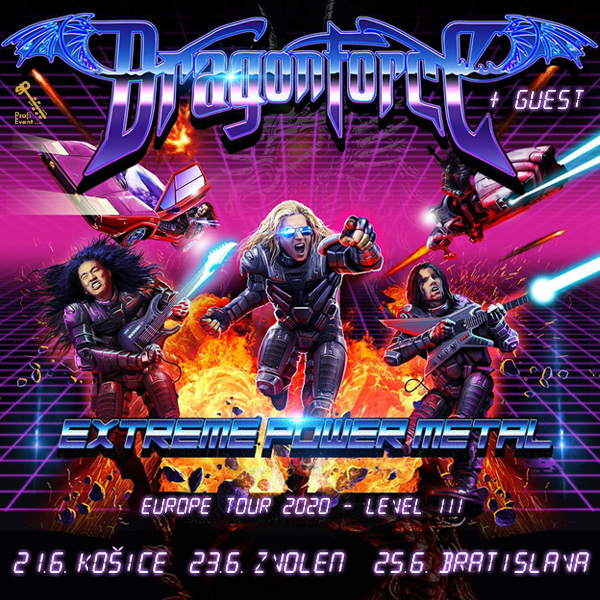 DRAGONFORCE - EXTREME POWER METAL 2020-LEVEL III