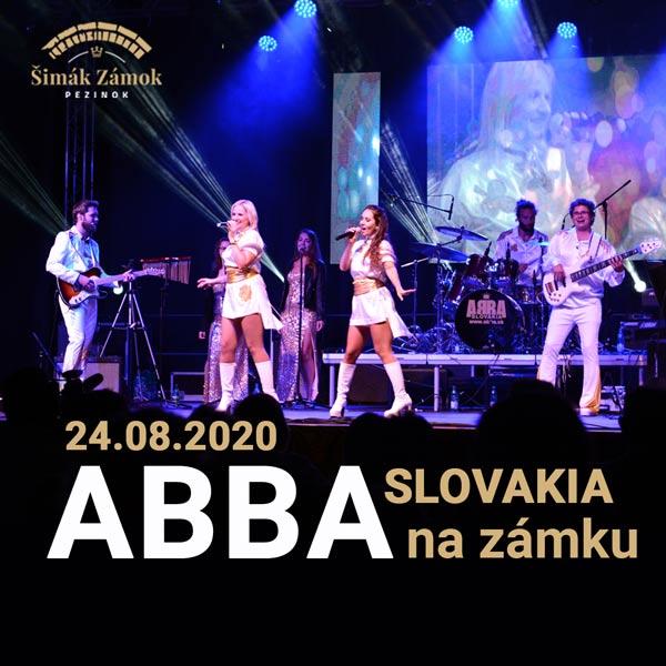 ABBA Slovakia na zámku