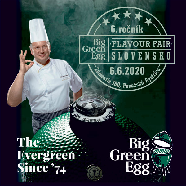 Big Green Egg´s Flavour Fair Slovensko 2020