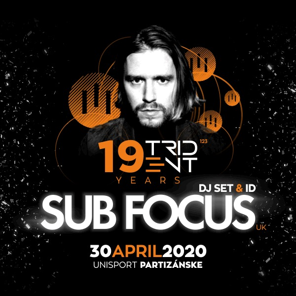 19 YEARS OF TRIDENT w/ Sub Focus