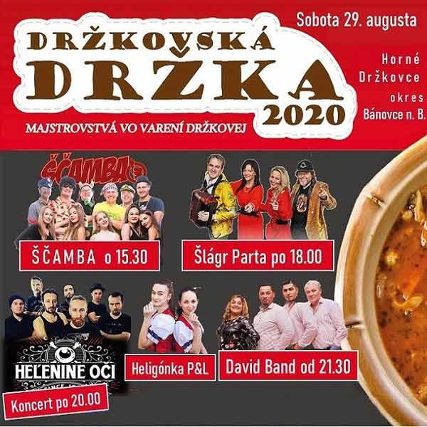 Držkovská držka 2020