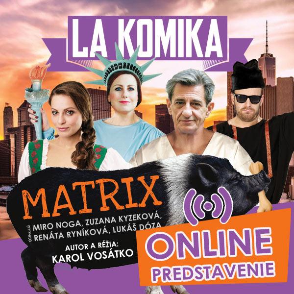 MATRIX - Online predstavenie