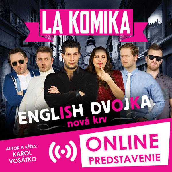 English dvojka - nová krv - Online predstavenie