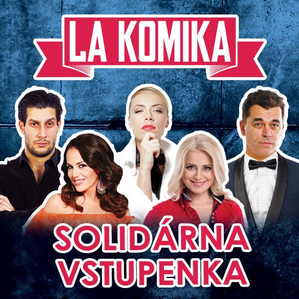SOLIDÁRNA VSTUPENKA: Divadlo La Komika